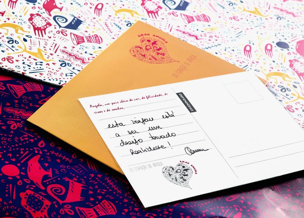 Envelopes Amar Angola